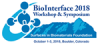 BioInterface 2018 Workshop & Symposium, Oct 1-3, 2018, Boulder, CO